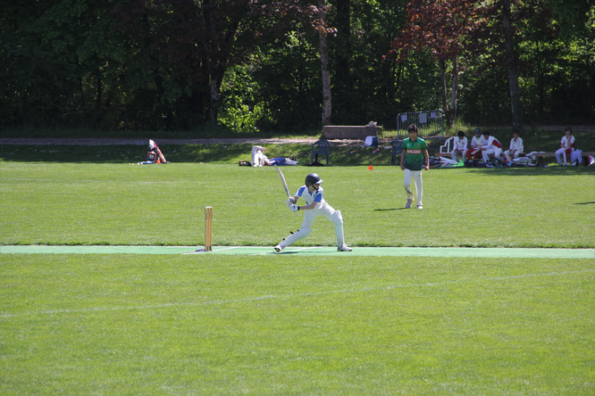 Batting action from Romande Cup 2020 (Bout du Monde)