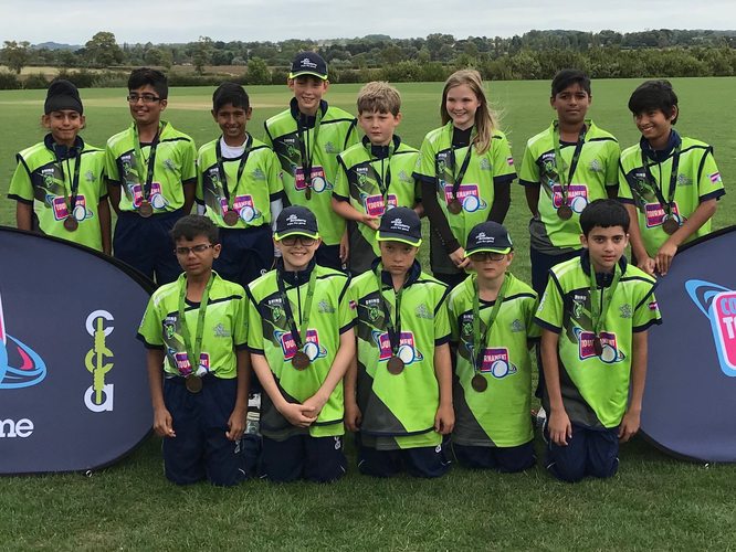 City Cricket Academy Warriors at the U12s Coloured Clothing Tournament in Leicester, England (13-17.8.2018)
