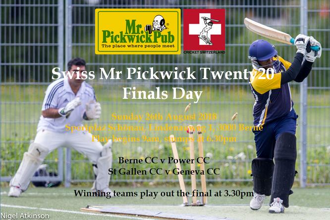 Swiss Mr Pickwick Twenty20 Finals Day 2018