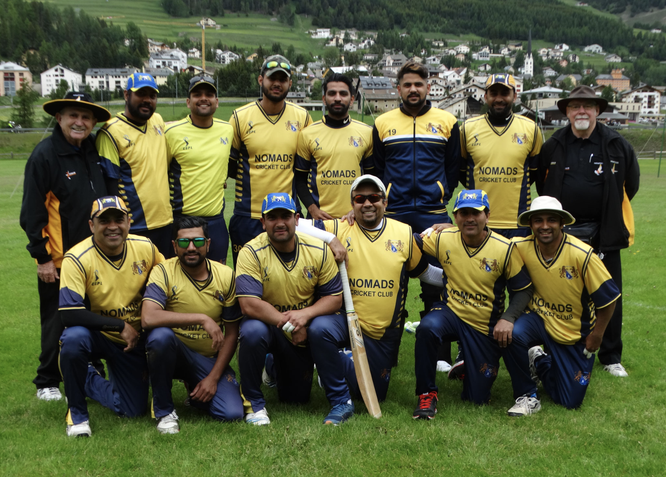 Zurich Nomads Cricket Club (2019 Mr Pickwick Twenty20 semi-finalists)