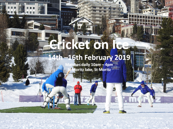 Cricket on Ice 2019 (14-16.2.2018)