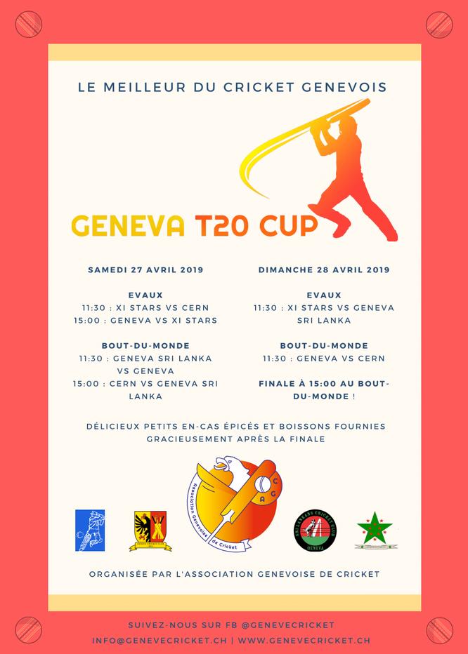 Geneva T20 Cup 2019 (française)