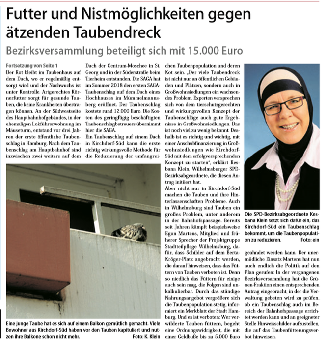 Neuer Ruf Wilhelmsburg vom 02.02.19, Seite 7 (Fortsetzung von Seite 1)