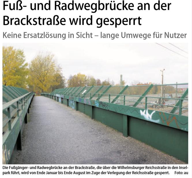 Neuer Ruf Wilhelmsburg vom 17.11.2018, Titelseite
