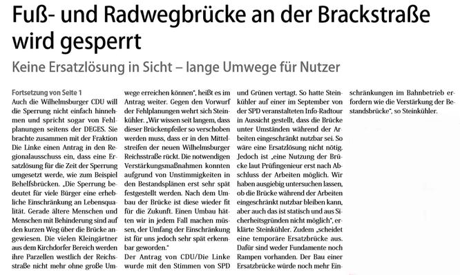 Neuer Ruf Wilhelmsburg vom 17.11.2018, Fortsetzung Seite 3