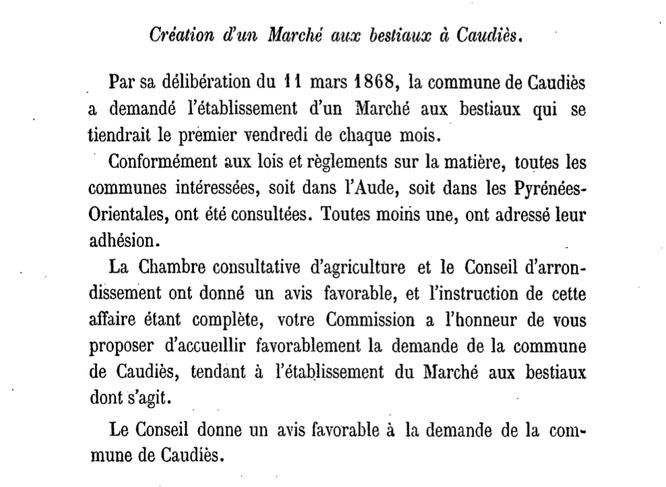 Rapports et délibérations Pyrénées Orientales, Conseil Général (gallica.bnf.fr)