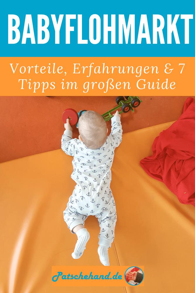 Vorteile, Erfahrungen & 7 Tipps für den Gebrauchtkauf von Babybekleidung auf Mama-Blog Patschehand.de.