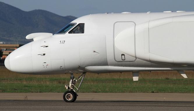 11-2010 - 537 (G550, 5037) - Decimomannu Air Base, Italy - (C) Giampaolo Tonello