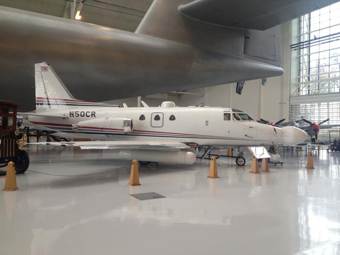 24-10-2016 - N50CR (Sabreliner 50, 287-1) - Evergreen Aviation & Space Museum (OR), USA - (C) R. Verhaegh