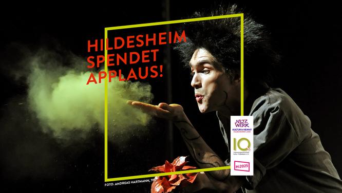 Das Titelbild der Kampagne zeigt den Schauspieler Moritz Nikolaus Koch, TfN. Foto: Andreas Hartmann