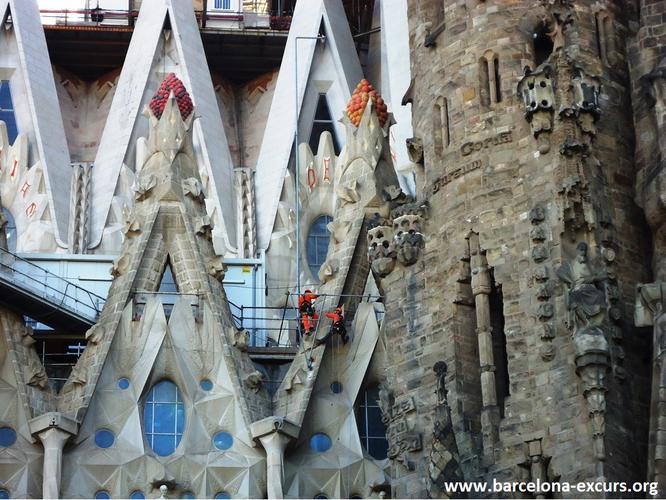 Храм Святого Семейства, Барселона, 2017