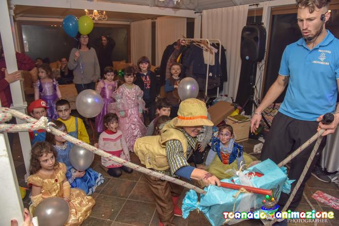animazione festa di carnevale bambini roma