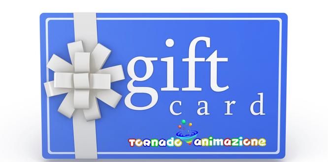 Gift card animazione Roma