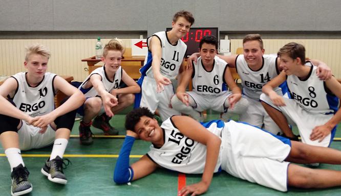 Erster Sieg im ersten Spiel: Die U16 II-Jungs legten einen erfolgreichen Saisonstart hin.
