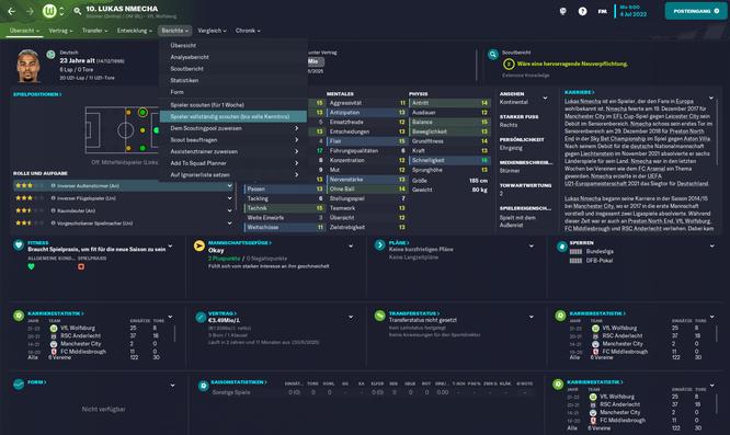 Spieler zu scouten macht uns im Football Manager 2021 immer extrem Spaß. Was gibt es besseres, als ein Supertalent vor allen anderen Klubs zu entdecken?