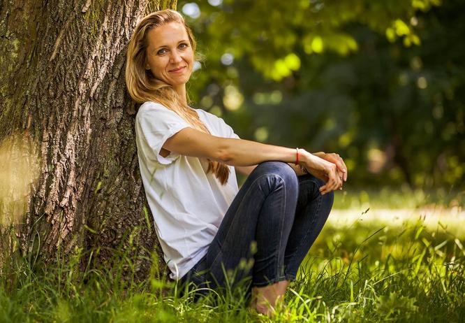 Tina Schütze, Autorin und Achtsamkeits-Coach aus Berlin
