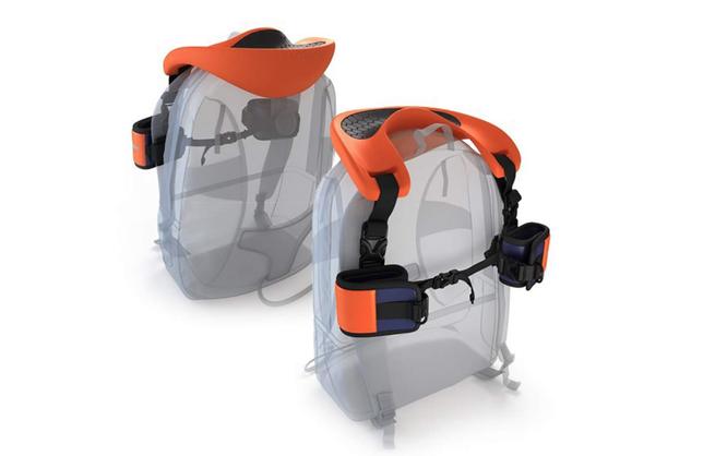 Schulter-Sattel für Kinder