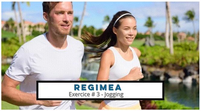 Un couple qui fait du jogging