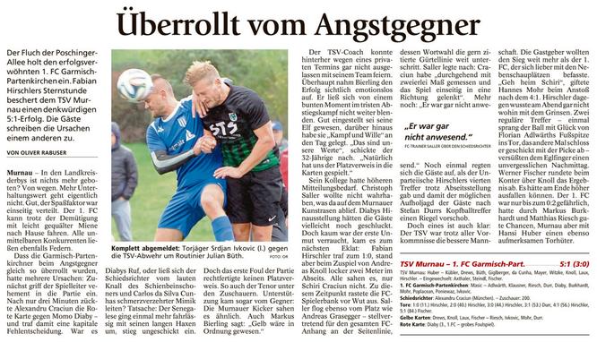 Ga-Pa Tagblatt vom 10.10.2016