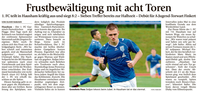 Ga-Pa Tagblatt vom 03.11.2016