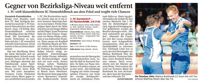 Ga-Pa Tagblatt vom 04.10.2016