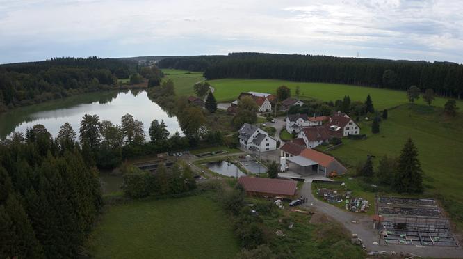 Wagenhausen - fish rearing Stoerk