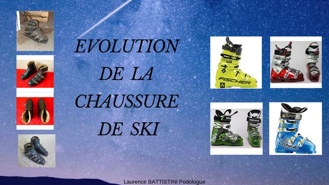 chaussure de ski, chaussures de ski
