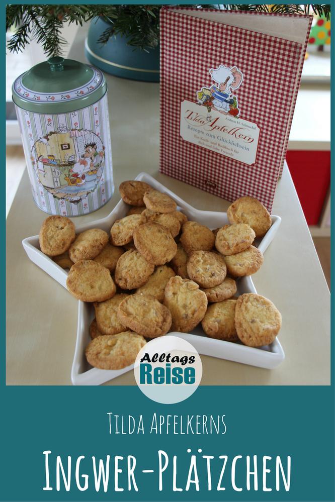 Wir verraten dir das Rezept für die leckeren Ingwer-Plätzchen von Tilda Apfelkern