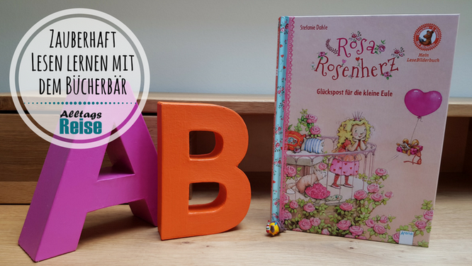 """Leselern-Reihe Bücherbär aus dem Arena-Verlag: """"Rosa Rosenherz - Glückspost für die kleine Eule"""""""