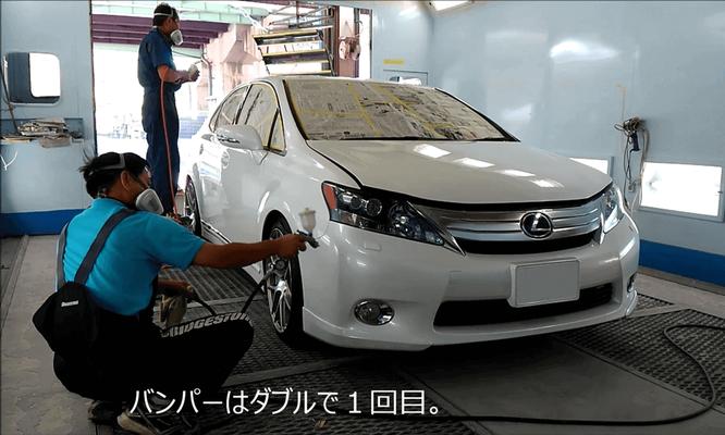車 の ガラス コーティング 島根県松江市 カートピア石橋のクオーツ・ガラスコーティングの施工事例