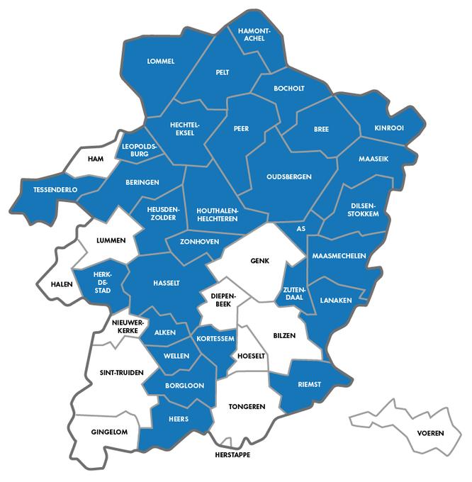 Tips voor Fietsers - Fietsgids Limburg 2021 - In deze fietsvriendelijke gemeenten kan je de gidsen afhalen