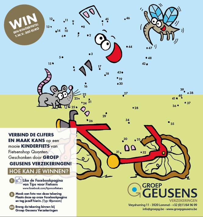 Fietsen in en om Limburg 2021 - Gratis Fietsgids - Win een kinderfiets - Groep Geusens Verzekeringen