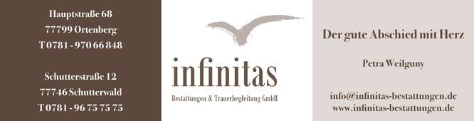 Infinitas • Bestattungen & Trauerbegleitung