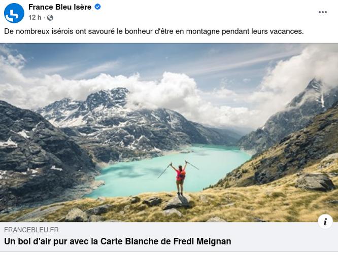 Merci à France Bleu Isère pour l'invitation hier sur les ondes. A réecouter avec un clic sur l'image.