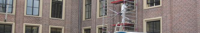 schilder Leiden houtrot behandelen houten kozijnen