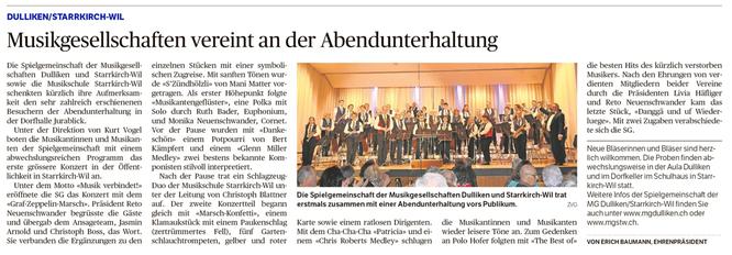 Oltner Tagblatt, 28.11.2017, S. 22