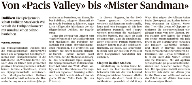 Oltner Tagblatt, 25.4.2017, S. 27