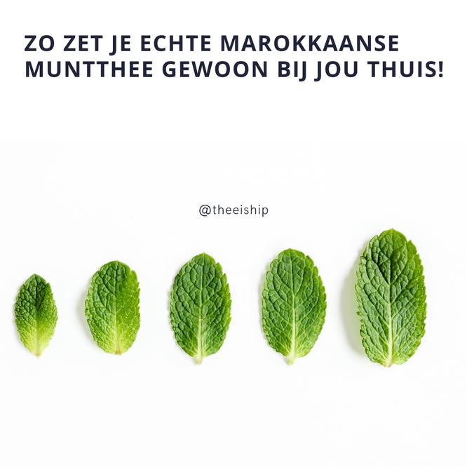 Marokkaanse muntthee by Thee is Hip!