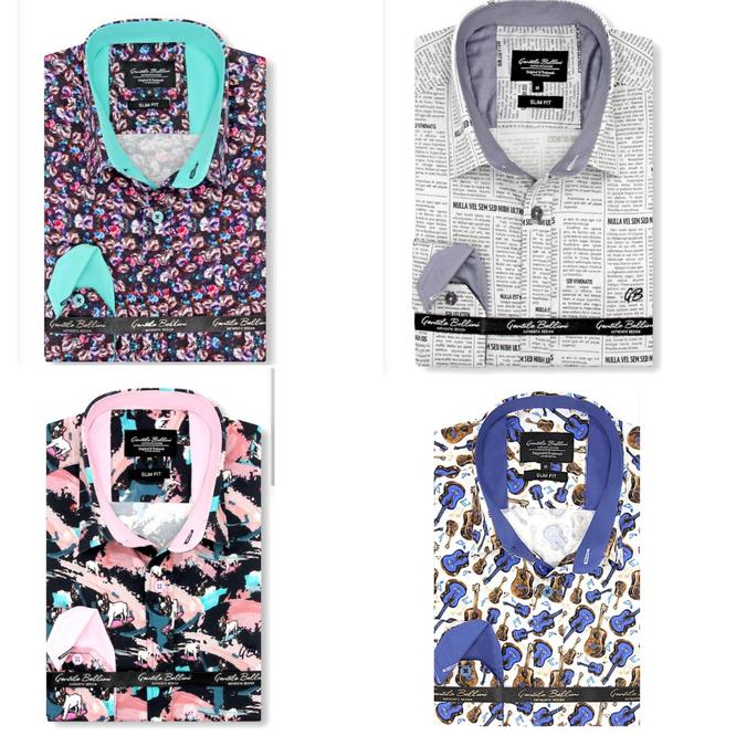 De 10 leukste bijzondere overhemden heren
