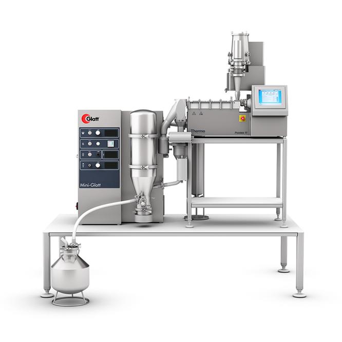 continuous manufacturing Glatt MODCOS XS
