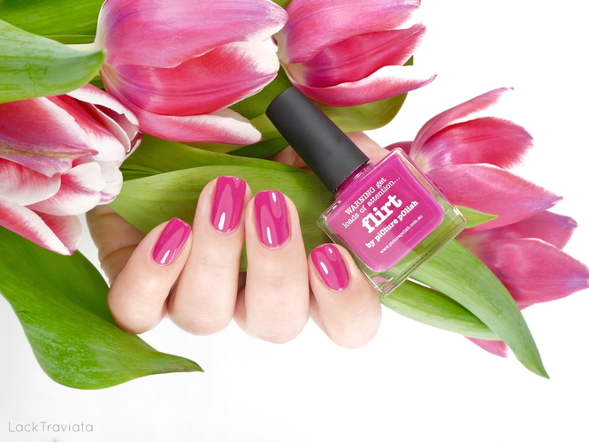 picture polish • flirt • Bright Shades Collection