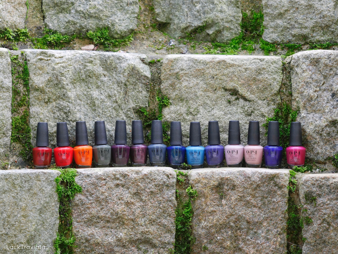 OPI • Scotland Collection (fall/winter 2019)