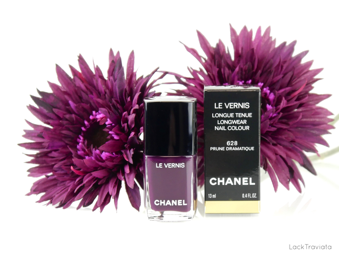 CHANEL • PRUNE DRAMATIQUE 628 • Rouge Coco Collection (spring 2018)