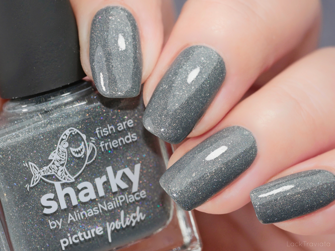 picture polish • sharky • by AlinasNailPlace • Collaboration Shades Collection (released September 2019)