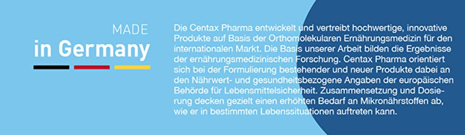 Quelle: amazon/centax pharma