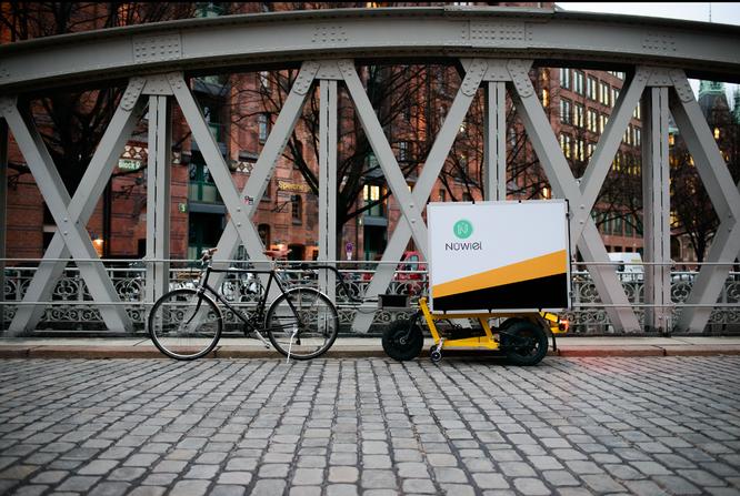 Elektromobilität-Startup NÜWIEL und Freetrailer mischen ab jetzt die boomende Sharing Economy für die letzte Meile auf