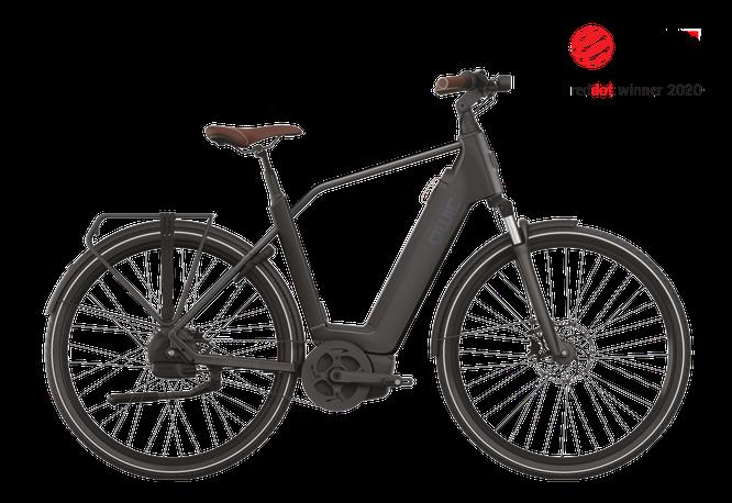 Qwic RD 2020 Premium, asphalt-black, male