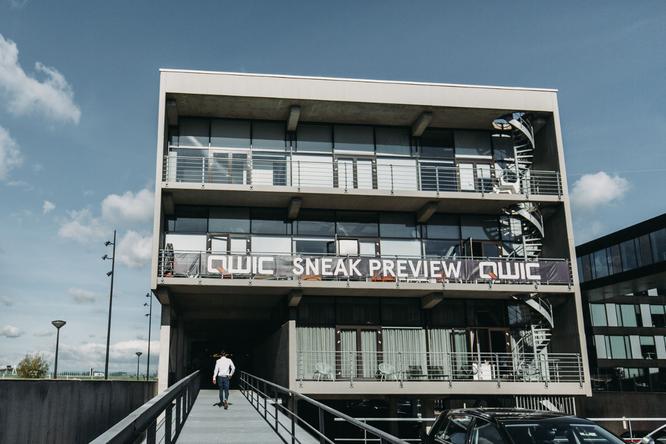 QWIC bedankt sich bei seinen Händlern für den Besuch der Sneak Preview