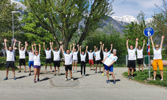 PowUnity beim Wings for Life Run