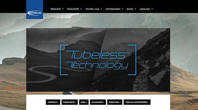 Tubeless Webspecial klärt alle Fragen: schwalbe.com/tubeless-technology ©Schwalbe